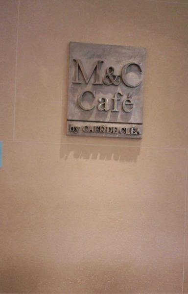 M&C Cafe 看板