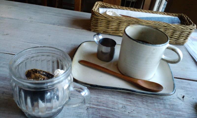 カフェ サンクチュアリ 珈琲とゼリー