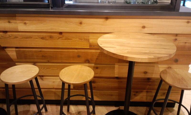 コーヒーキオスク 座席
