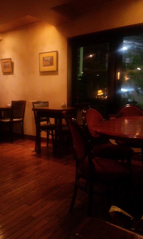 Cafe 唯 店内