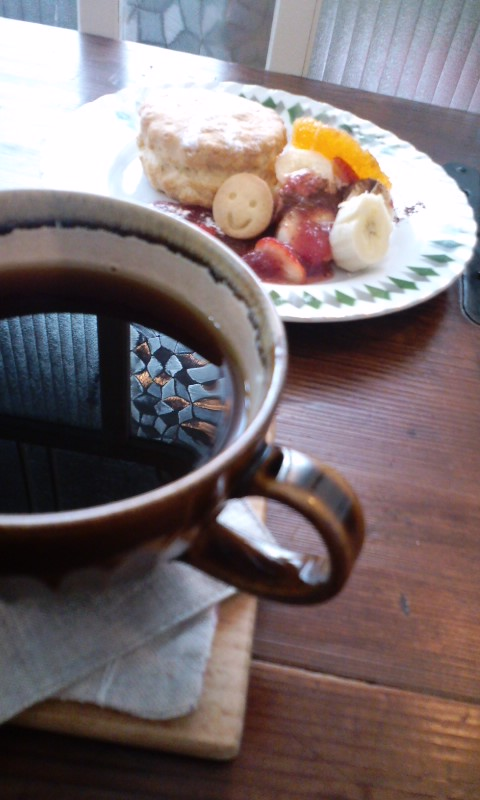 tete cafe 珈琲とスコーン