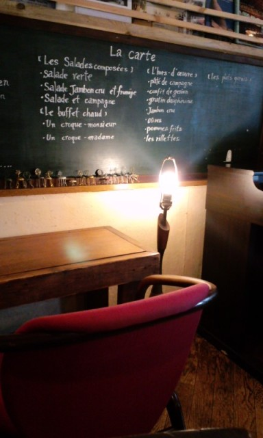 eau cafe 店内