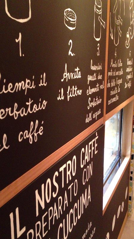 カフェ パッサラクア 店内
