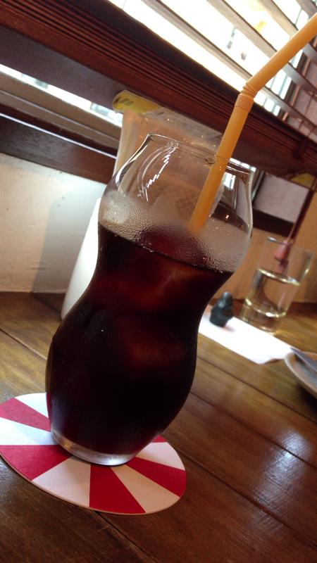 ペドラブランカ アイスコーヒー