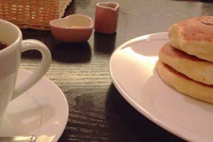 珈琲 茶香 珈琲とパンケーキ