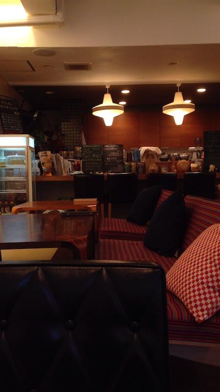 つむぐカフェ 店内