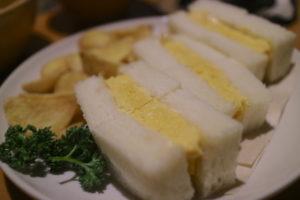 カヤバ珈琲 タマゴサンド