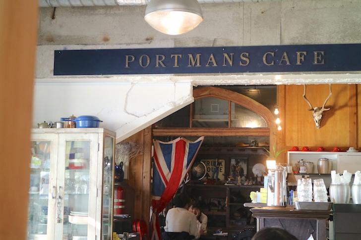 PORTMANS CAFE 店内