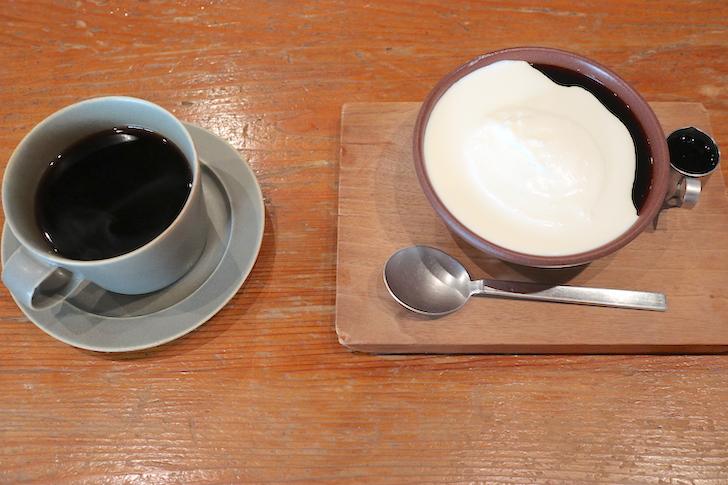 Tas Yard 珈琲ゼリーとコーヒー