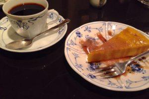 かぼちゃのムース カフェ・トロワバグ