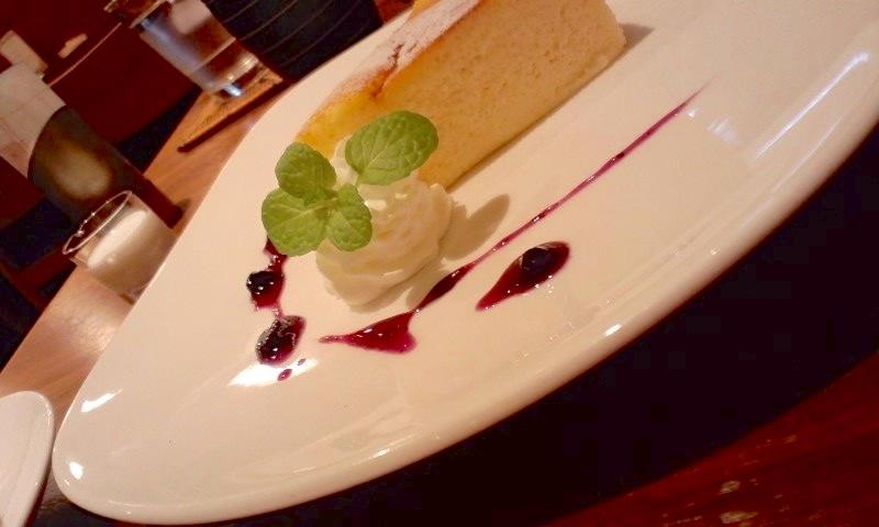 みのりCafe チーズケーキ