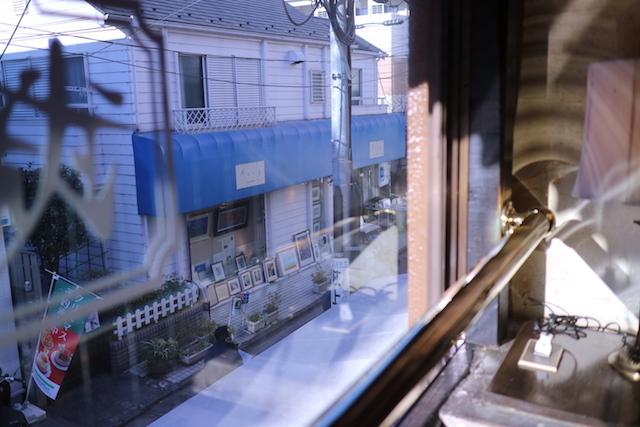 武蔵野珈琲店 窓からの眺め