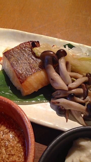 伊右衛門サロン京都 お魚のオーブン焼き
