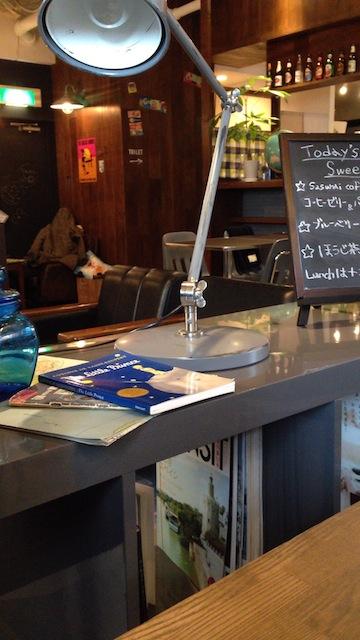 SASURAI CAFE 店内