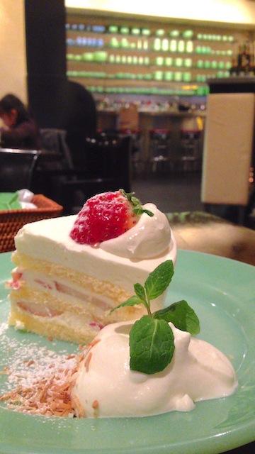 Fireking cafe ショートケーキ