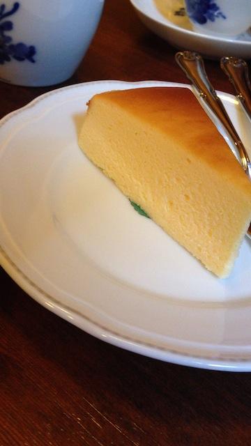 アンセーニューダングル 原宿店 チーズケーキ