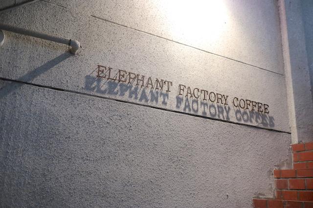 ELEPHANT FACTORY COFFEE 外観