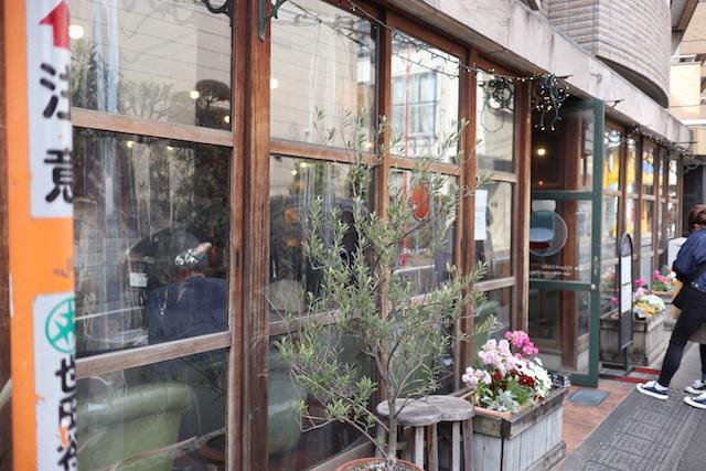 ビオ・オジヤン・カフェ 外観