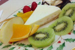 画廊喫茶 ミロ レアチーズケーキ