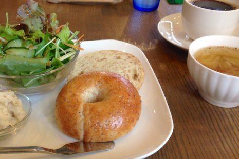 SASURAI CAFE ベーグルランチ