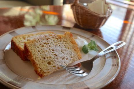 カフェ スノウドロップ スイートポテトケーキ