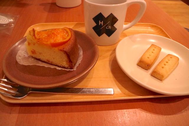 ビー ア グッド ネイバー コーヒー ケーキとショートブレッド