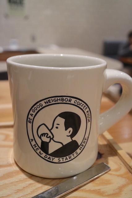 ビー ア グッド ネイバー コーヒー キオスク 珈琲
