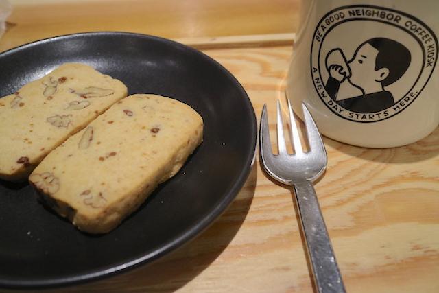 ビー ア グッド ネイバー コーヒ 珈琲とクッキー