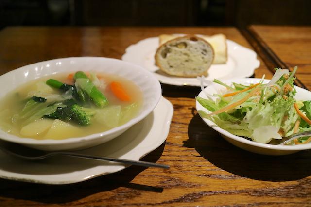 喫茶ロア スープセット