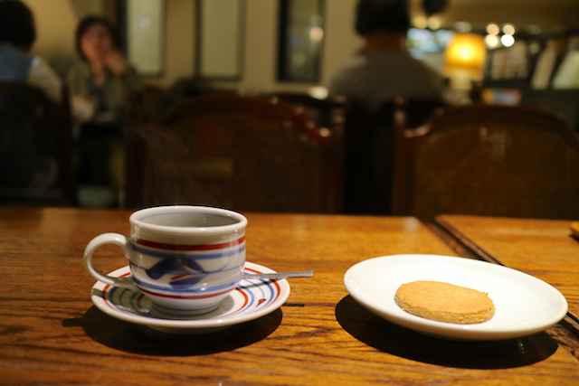 喫茶ロア 珈琲とクッキー
