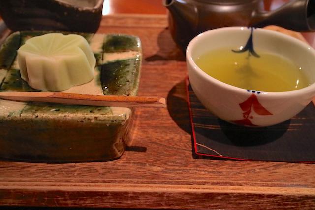 楽風 お茶と和菓子