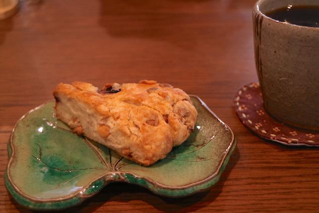 パイオニアコーヒー工房 ともりびKafe スコーン