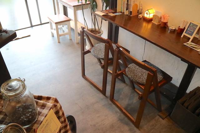 パイオニアコーヒー工房 ともりびKafe 店内