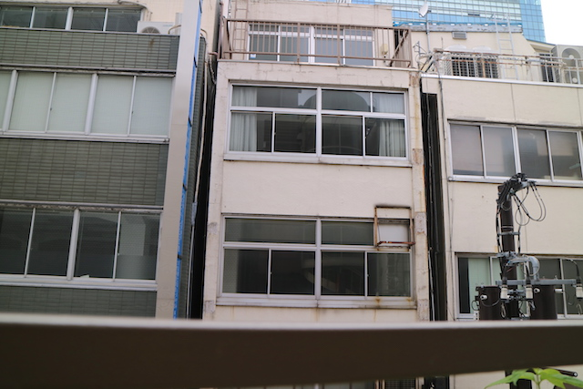 ミカド珈琲店 日本橋本店 眺望