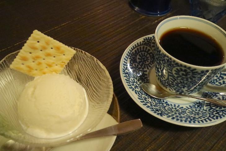 搾りたての牛乳で作ったミルクジェラート 中奥 Cafe Salon Naka-Oku