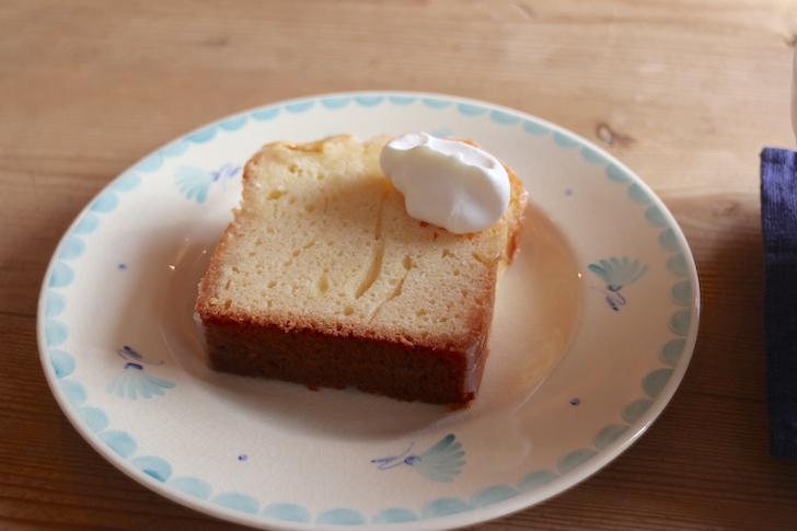 レモンのパウンドケーキ カフェ・ロッタ