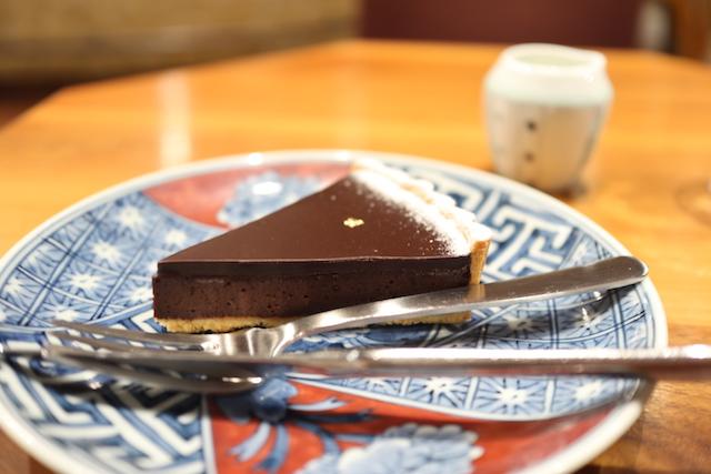 チョコレートタルト 堀口珈琲 世田谷店