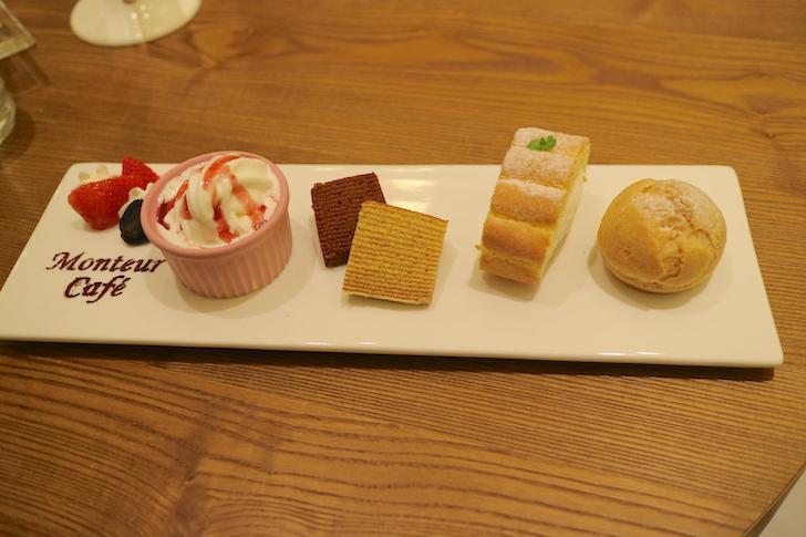 MONTEUR 夢甜屋洋菓子店 ケーキ盛り合わせ