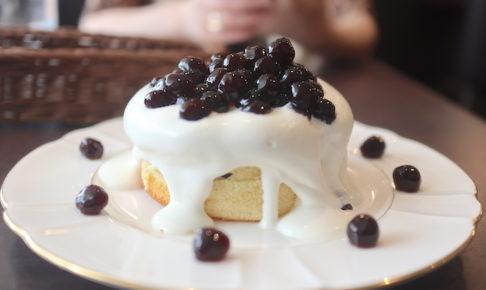 カフェ台北 台湾タピオカ厚焼ホットパンケーキ