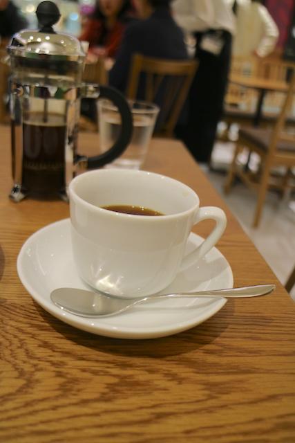 横井珈琲 パセオ店 コーヒー