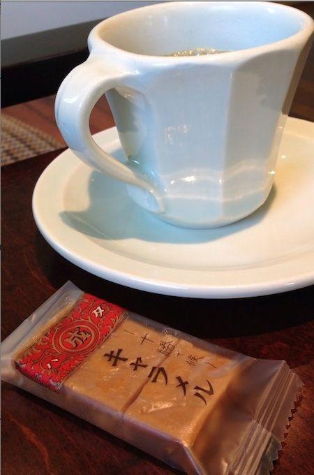 喫茶 六花文庫 キャラメル