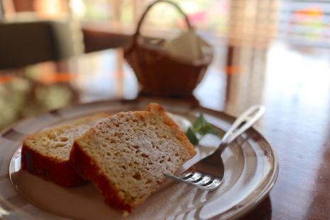 スイートポテトケーキ Cafe Snowdrop