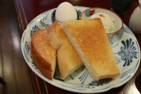 バタートースト 珈琲物語