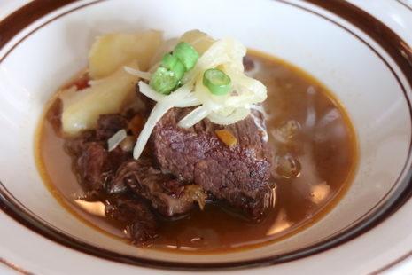 国産牛肉の赤ワイン煮 わかば堂