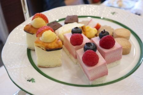 アフタヌーンティーセット ホテルオークラ札幌 レストランコンチネンタル