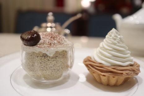 メープルシフォンケーキ 茶亭 羽當