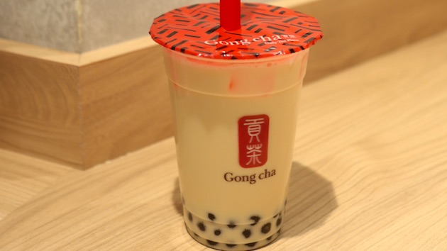 阿里山ウーロンミルクティー Gong cha 貢茶