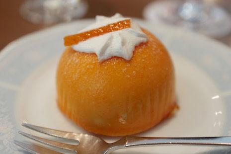 オレンジクリームケーキ 銀座和蘭豆 蒲田駅前店