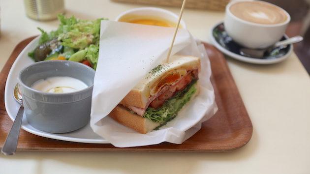 日替わりサンドウィッチプレート NEW ZEALAND CAFE AKASAKA