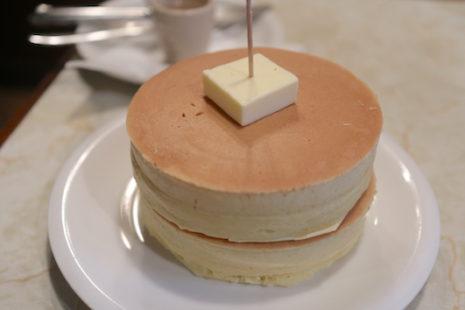ホットケーキ 喫茶ニット